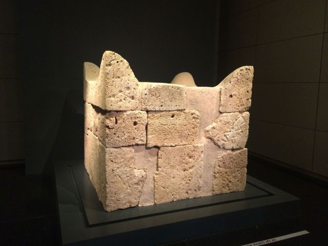 140629 Israel Museum Horned Altar