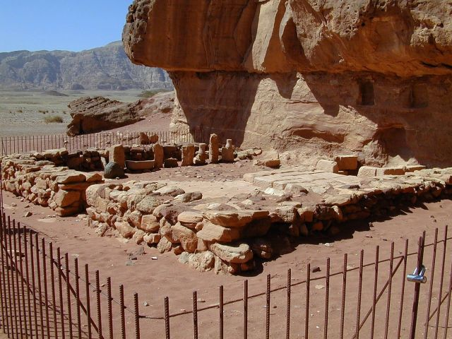 Timna Hathors Temple