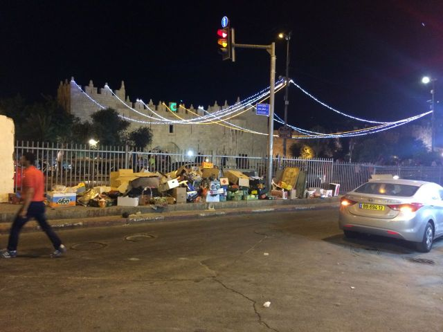 140701 Damascus Gate Lights