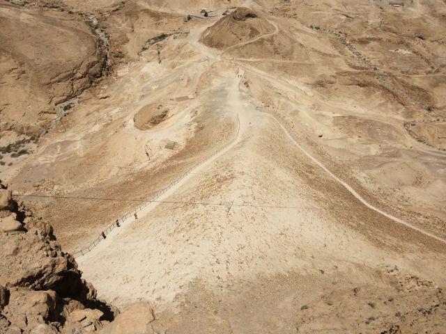 140701 Masada Siege Ramp