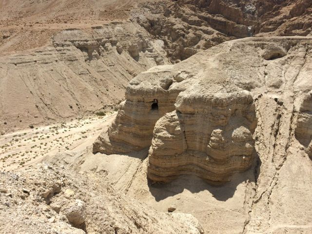 140701 Qumran Cave 4