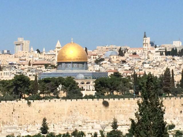 140708 Jerusalem from Dominus Flevit