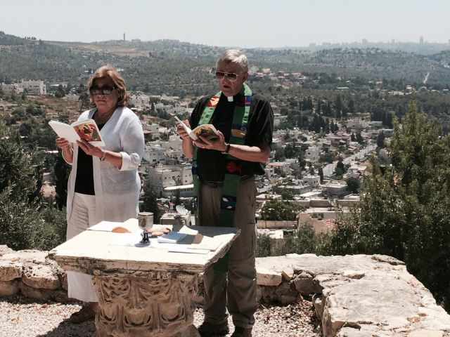 140709 Abu Ghosh Eucharist