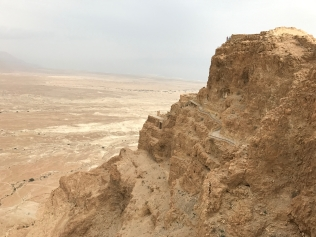 Herold's triple palace at Masada