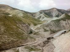 Wadi Qilt in spring